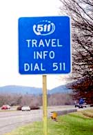 511 roadside sign