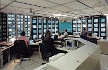 Traffic Operations Center Control Room