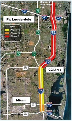I95 Map Florida.Upa Crd Annual Report Miami Fl I 95 Express Lanes Fhwa Office