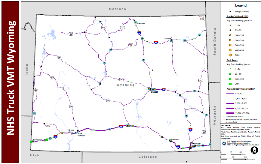 Map Us Interstates Dot Weigh Stations Map on