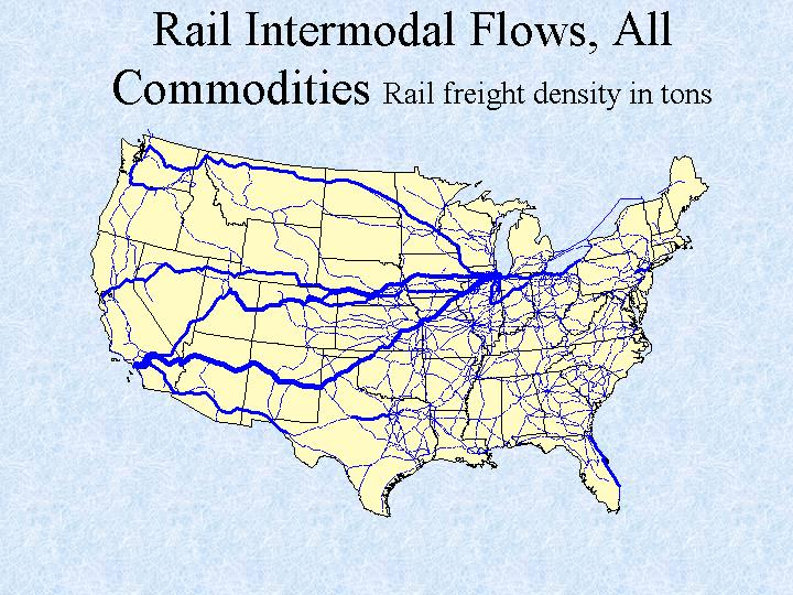 Railway Map Of The Us Globalinterco - Map of us rail network