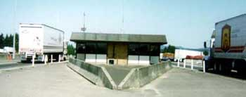 View of weigh station