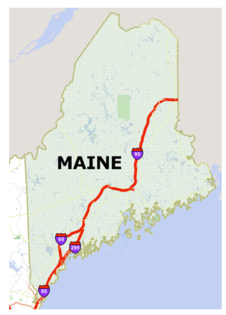 Maine and Vermont Interstate Highway Heavy Truck Pilot Program 6