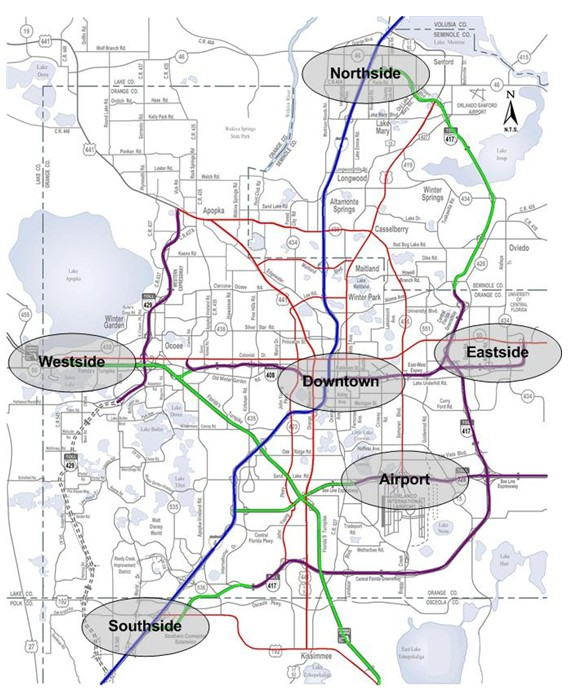 Toll Roads Map Florida.Fhwa Office Of Operations Iflorida Model Deployment Final