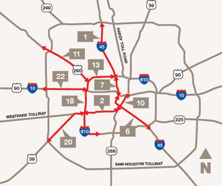 houston metro traffic map indiana map