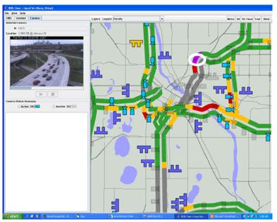 Minnesota Department Of Transportation Traffic Map.Guidelines For Virtual Transportation Management Center Development