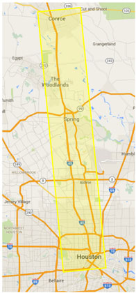 Toll Roads In Houston Map.Effectiveness Of Disseminating Traveler Information On Travel Time