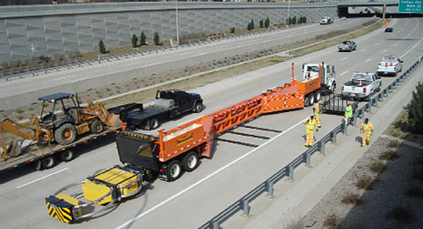 Barricade Vehicle Tractors : Optimizing performance mobility safety—making work zones
