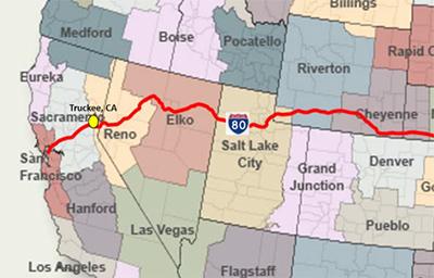 Weather Savvy Roads Truckee California Adopting Pathfinder