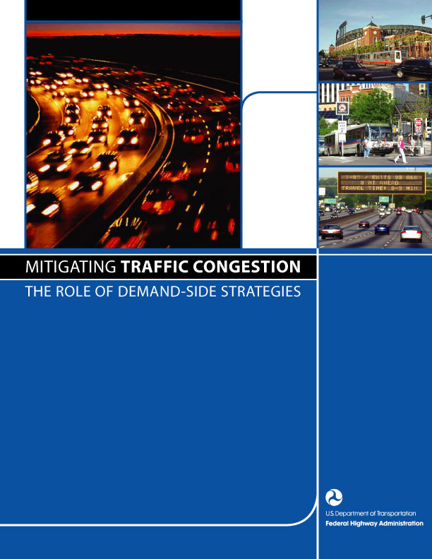 cover image: mitigating traffic congestion - the role of demand-side strategies