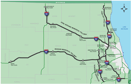 Illinois Tollway Construction Map on chicago construction, illinois interchange construction, illinois bridge construction, illinois highway construction, illinois road construction,