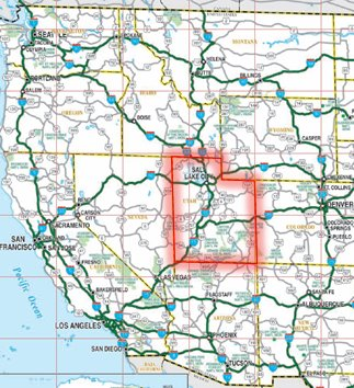 US Interstate Map Interstate Highway Map Whats Your Adventure Map - Highway map western us